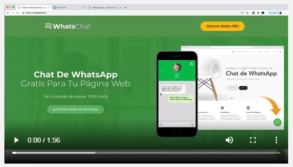 Insertar Whatsapp en mi página web p
