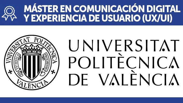 Master User Experience UPV