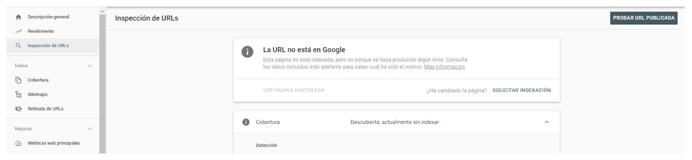 solicitar indexacion google