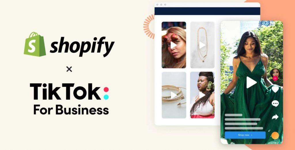 Shopify y Tiktok