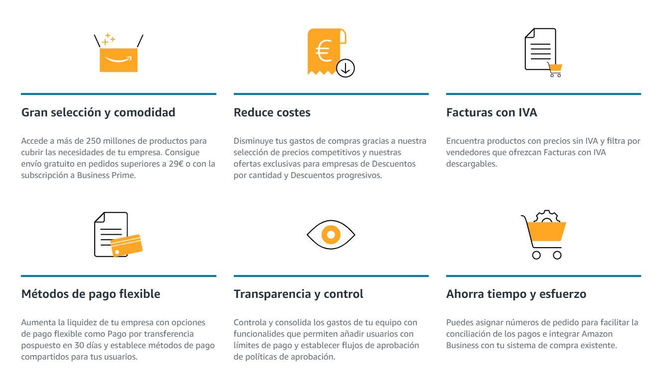 Ventajas Amazon Business