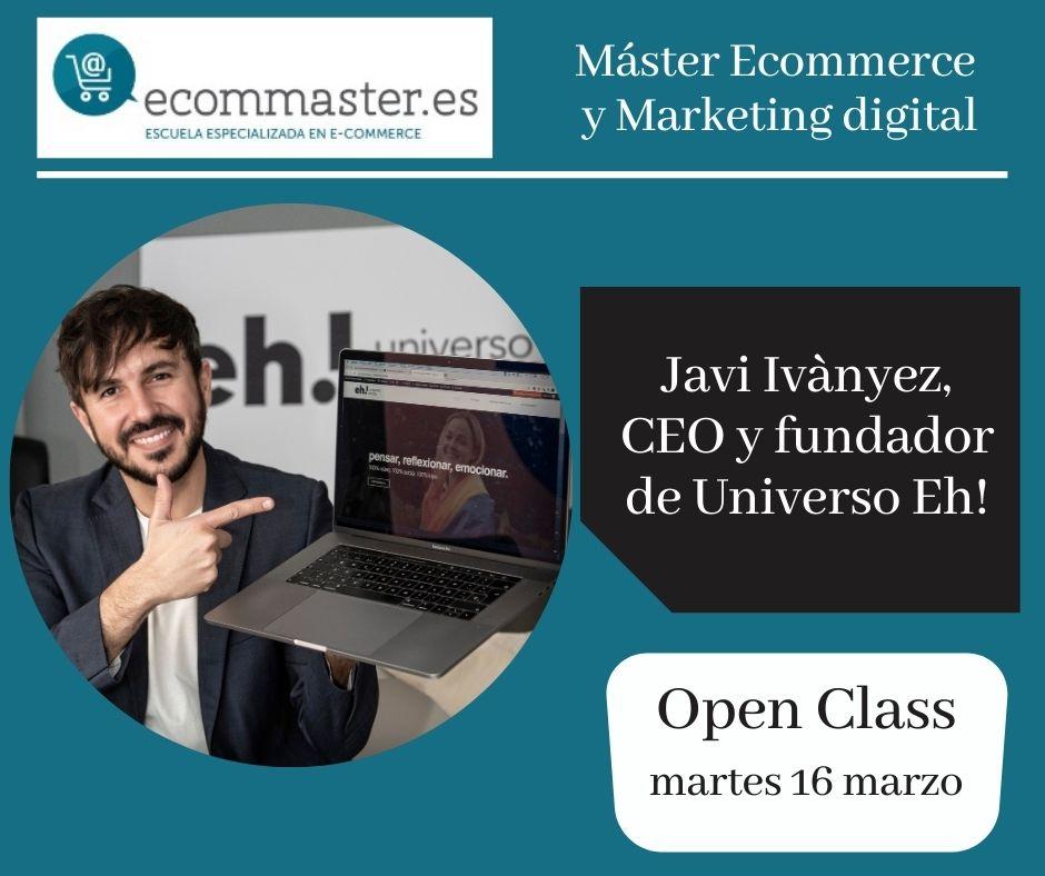 Clase marketing digital Javi Ivanyez