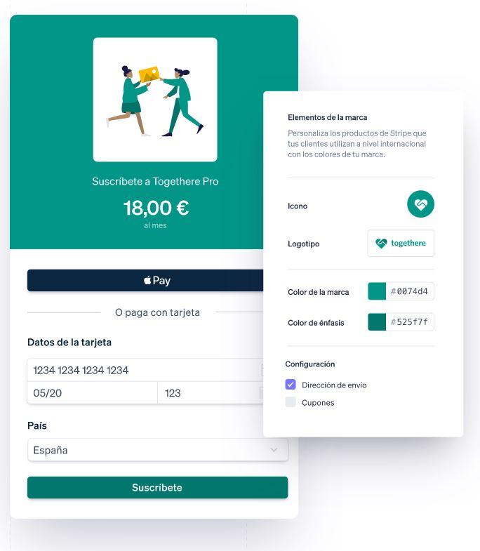 Configurando checkout con Stripe Payment Links