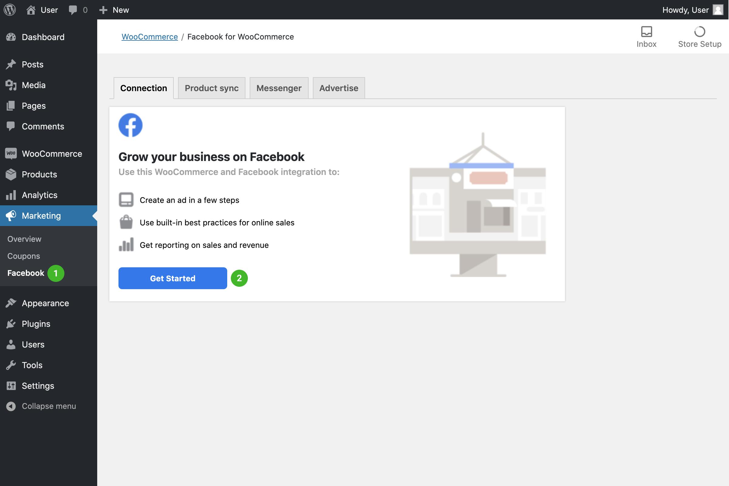 plugin facebook woocommerce